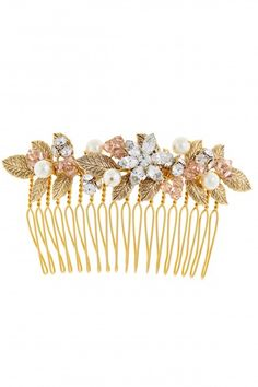 Suzanne Crystal Embellished Comb | Calypso St. Barth