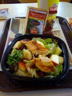 Wendy's Apple Pecan Chicken Salad Interesting Image