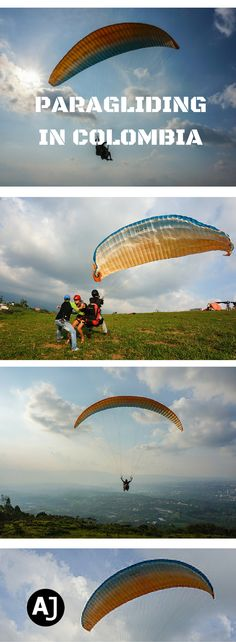 Paragliding in Bucaramanga, Colombia