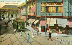 Pinoy Kollektor: Philippine TRANVIAS (Street Cable Cars) in Postcards. Pinoy's first modern transportation Philippines Culture, Manila Philippines, Philippine Architecture, Noli Me Tangere, Philippine Art, Street Painting, Filipiniana, Cool Photos, Past