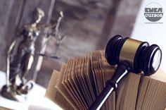 Interpretação Constitucional martelo de juiz livros e deusa themis