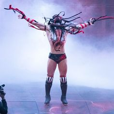 """WWE no Instagram: """"The Demon @finnbalor is ready to be unleashed at #ExtremeRules next Sunday!"""" Finn Balor Demon King, Next Sunday, Wwe, Wrestling, Photography, Instagram, Style, Lucha Libre, Swag"""