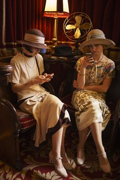 Behind the Scenes - Downton Abbey costumes
