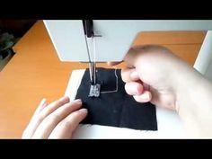 (51) Öltésről öltésre-02, Szögben fordulás - YouTube Sewing Hacks, Sewing Projects, Videos, Youtube, Video Clip, Stitching