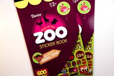 Day at the Zoo Darice Sticker Book - SB61