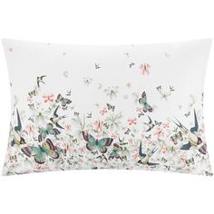 Ted Baker Entangled Enchantment Pillowcase - 50x75cm - Set of 2 ($43) ❤ liked on Polyvore featuring home, bed & bath, bedding, bed sheets, purple, couple pillow cases, purple floral bedding, floral bedding, patterned bedding and patterned pillowcases