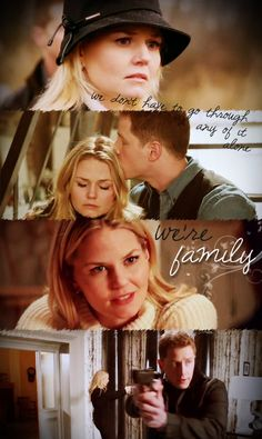 "Charming: ""You don't have to go through any of it alone. We're family."" #OUAT"