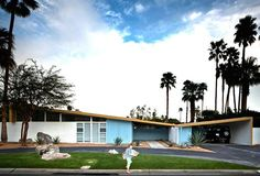 Butterfly roofs and mid-century modern houses. Click on the image to see more.