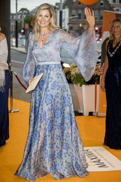 5 Sep 2017 - Queen Maxima Attends Charity Gala Dinner For Princess Maxima Center For Oncology in Amsterdam.