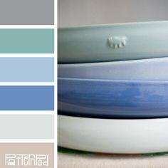 Pewter Porcelain #patternpod #patternpodcolor #color #colorpalettes