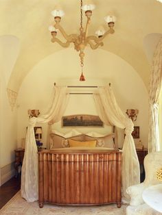 French Renaissance bed chamber