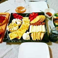 チーズプラトー、チーズパーティー Cheese board,cheese paty