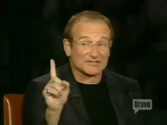 Inside The Actors Studio with Robin Williams. He is so spot on about cats... ♡