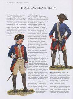 nfanterie d0e Hesse-Kassel révolution américaine