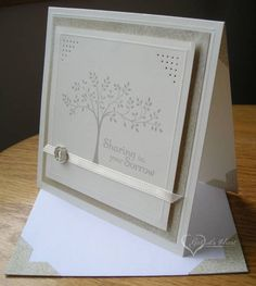 CTMH Vanilla Sympathy by darbaby - Cards and Paper Crafts at Splitcoaststampers