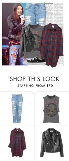 """""""Kendall Jenner #587"""" by deleanorr-inspired ❤ liked on Polyvore featuring Topshop, Chaser, Monki, Acne Studios, Converse, kendalljenner, kendalljennerstyle and kendalljennerinspired"""