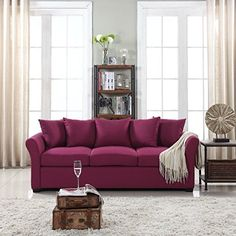 Cheap Classic and Traditional Ultra Comfortable Linen Fabric Sofa  Living Room Fabric Couch (Purple) https://sectionalsofas.review/cheap-classic-and-traditional-ultra-comfortable-linen-fabric-sofa-living-room-fabric-couch-purple/