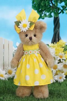 Bearington Bears Collection Piper Polkadots