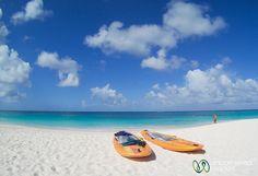 Paddle Boarding at Shoal Bay Beach - Anguilla