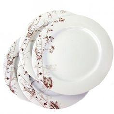 Birch Dessert Plates // by Rust Designs
