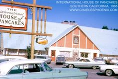 remember when IHOP looked like this and it was called The International House of Pancakes