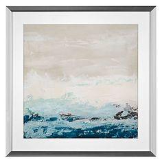 Coastal Currents 1 | Framed Art | Art by Type | Art | Z Gallerie