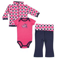 Yoga Sprout Bodysuit Pants and Track Jacket Set Girl Bird Collection 1218 Months * Learn more by visiting the image link. (This is an affiliate link) #BabyGirlHoodiesActive