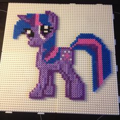 MLP Twilight Sparkle hama beads by mallemil