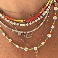 Bead Jewellery, Beaded Jewelry, Jewelery, Handmade Jewelry, Beaded Bracelets, Trendy Jewelry, Summer Jewelry, Cute Jewelry, Jewelry Accessories