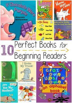 10 Perfect Books for Beginning Readers Moments With Mandi is part of Books for beginning readers - These books for beginning readers make great gifts and will make your little one love to read Best Children Books, Childrens Books, Books For Kids, Childrens Christmas, Toddler Books, Books For Beginning Readers, Early Readers, First Grade Books, Good Books