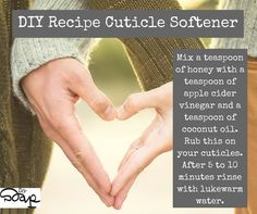 DIY Recipe Cuticle Softener