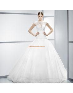 Romantische zwei-ein-ein Princess-Stil Brautkleider aus Organza Vestidos de novia - Jesús Peiró