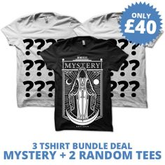 Summer sale! do you like the thrill of random selection? Check out this awesome T-shirt bundle deal! http://ukcustomplugs.co.uk/collections/sale/products/40-tshirt-bundle-deal