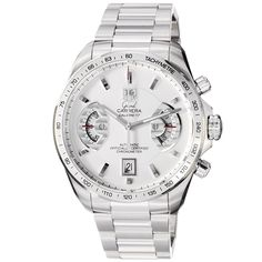 TAG Heuer Men's CAV511B.BA0902 Grand Carrera Chronograph Calibre 17 RS Watch * Visit the image link more details.