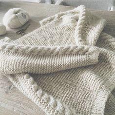 Flettegenser 1 Knitwear, Cream, Knitting, My Style, Inspiration, Color, Fashion, Sweater Vests, Tejidos