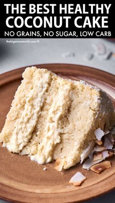 Low Carb Desserts, Gluten Free Desserts, Just Desserts, Low Carb Recipes, Cooking Recipes, Healthy Baking, Healthy Desserts, Keto Cake, Sugar Free Recipes