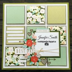 #scrapbooking #ctmhhellolovely #ctmh #scrapbook #craftingpaidforthis #gettingpaidtoplay inspired by Morgan vogt