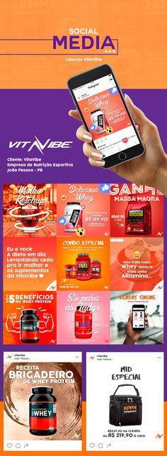 Social Media: Coleção VitaVibe on Behance