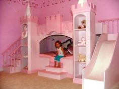 Girls Princess Theme Bed