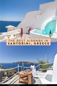 If you are wondering where to stay in Santorini or specifically looking for Airbnb Santorini rentals, you have come to the right place! I've rounded up the twelve best Santorini Airbnb options in the best place to stay in Santorini. Cheap Hotels In Santorini, Santorini Travel, Greece Travel, Santorini Accommodation, Santorini Greece, Crete Greece, Athens Greece, Best Hotels In Greece, Places To Travel