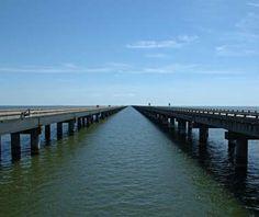 Lake Pontchartrain Causeway, Louisiana
