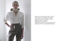 Anna Sara Davik MA collection : work