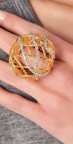 Alexis Bittar - Woven Dome Ring