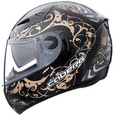 Caberg V2RR Road Pirat Black/Bronze: FULL FACE: Amazon.co.uk: Car & Motorbike