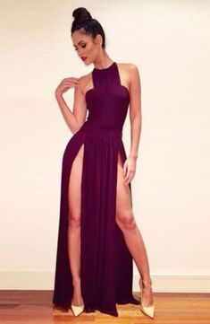 Very High Slit Dresses