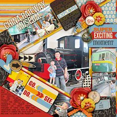 Single 67 - lots of snapshots 35 by Cindy Schneider  Layered cards: vacation mega by Cindy Schneider  Live life 24/7 - kit by Brook Magee & Studio Basic Designs
