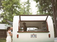 Sweet Water caravan a mobile bar for hire