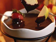 Fondue de chocolate -