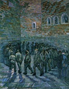 The Prison Courtyard Van Gogh 1890 [1238  1600]