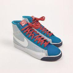 2ef865b9afcbf Nike Blazers High ( 2009 ) Size: US 7 ( Women's ) Color: In. Depop